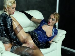 Cum Loving Eurobabes Drenched In Jizz