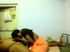 Desi Indian Maid Massaging And Blowjob To Owner