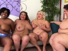 four-fat-girls-pleasure-each-other-and-one-lucky-guy