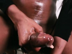 Ebony Shemale Brooke Morgan Masturbates