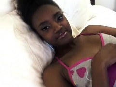 First Time Ebony Teen