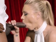 Blonde Hoe Katie Morgangets Drilled And Facialized
