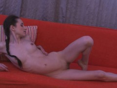 Hot Girlfriend Strips And Plays With Herself