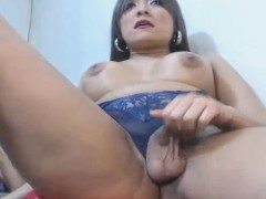 Two Busty Tranny Babe Fuck Each Other