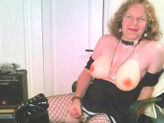 Swedish Sissy Heelboycd Has New Big Boobs!