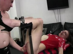 Fisting Insatiable Teen Slut In Bondage