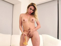 Shemale Brittany Sophia Solo Action