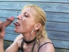 Blonde Girl Amateur Threesome And Facial