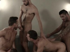 Muscle Gay Sex Party With Cumshot