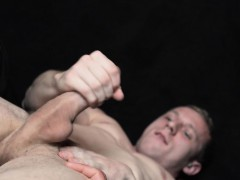Naked Young Stud Punished For His Transgressions