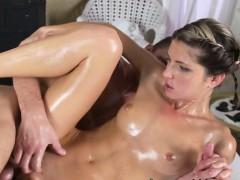 Slut Gina Gerson Gets Boned And Creamed By Masseur