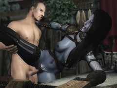 3d-dark-elf-milf-has-an-affair-with-human-knight-hentai