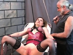 Flaming in nature's garb spanking and extreme slavery porn