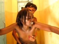 Sex-crazed Lesbians From Africa Are Having Intense Sex In