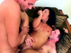 busty chick masturbates and gets asshole stretched in hard