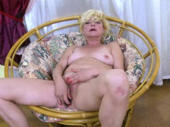 oldnanny-blonde-mature-solo-titplay-and-fingering