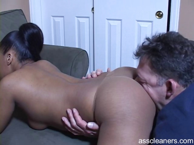 Homemade Ebony Ass Eating