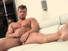 Ripped Stud Jerking In Front Of Friend