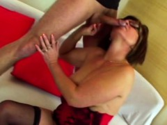 Nerdy Old Lady Likes To Get Her Ass Wrecked In Doggy Style