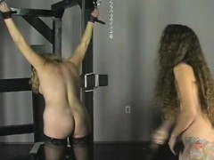 extraordinary bondage with sweet mama and young daughter