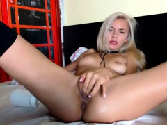 blonde-babe-fingering-her-pussy-with-toys