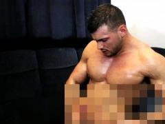 muscleman-eat-own-cum