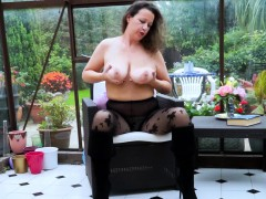 europemature hot sexy solo lady playing alone Hot
