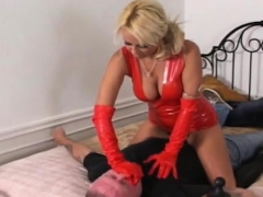 Girls Dominating A Dude By Smothering Him With Their Booties