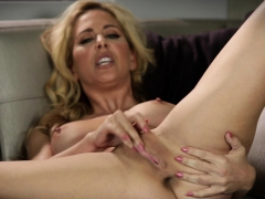 Cherie Deville Masturbating For Her Stepson In Heels