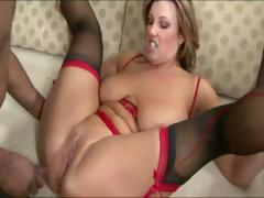 Amateur In Sexy Lingerie Having Sex With Her Boyfriend At