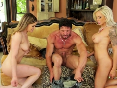 Milf N Teen In Real 3way