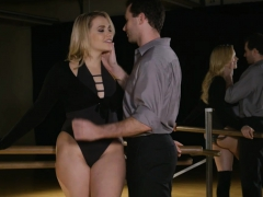bubble-butt-blondie-woman-pounded-in-the-dance-studio