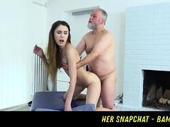 Man Pulls Teen Hair When Fucking Her Snapchat Bambi18xx