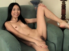 Aziza Zabitova Sexy Asian Teen Girl Masturbating