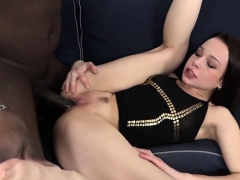 sexy bitch casting with cumshot