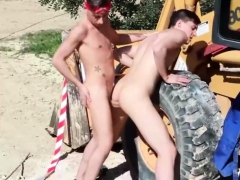 Twinks In Staxus Bareback Outdoor Action
