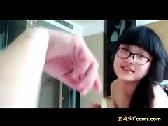 Chinese Horny Couple