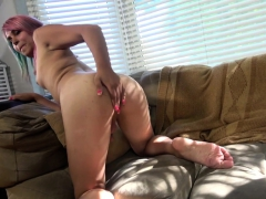 Auditioning Ts Babe Shoots Her Jizz