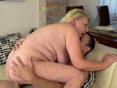 Horny Mature Woman Gets Fucked Hard