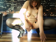 mature amateur in sexy stockings THE BEST HD 720 PORNO
