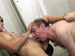 Hot Slut Gets Fucked By A Grandpa