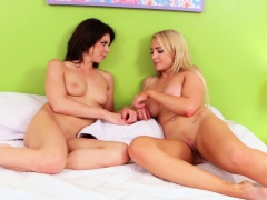 A Massage Leads To Lesbian Sex For Alix And Tara