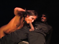 Giselle Takes On A Huge Black Dick To Pay Black The Black