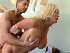 Playgirl Gets Her Big Tits Licked And Cunt Fucked Hard
