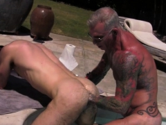 tattoo-wolf-double-fisting-with-cumshot