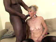 granny penetrated hard in ass by black she gets creampie