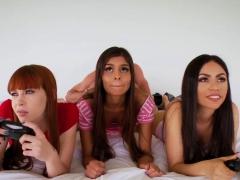 Redhead Teen Anal Orgy Xxx Gamer Girls
