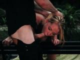 Girl bondage Raylin Ann is a sexy, molten towheaded who