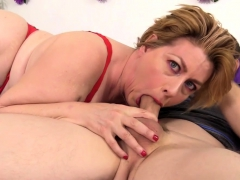 Mature Harlot Fucks And Takes Cum In Her Face