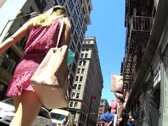 shy girl karine upskirt outdoor